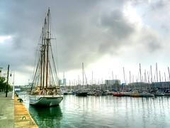 Puerto de Barcelona (Mercucio) Tags: barcelona sea espaa puerto mar spain mediterraneo ship harbour catalunya catalua colorphotoaward