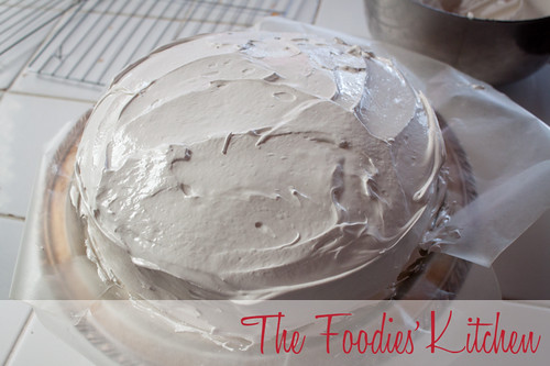 Classic Vanilla Cake and Italian Merengue Frosting