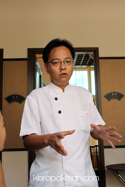 The Chef at Spring JuChunYuan