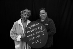 Shirley & Michelle (ABC Open Outback SA) Tags: port booth photo south australia augusta dreambox naidoc 2011 abcopen:project=dreambox