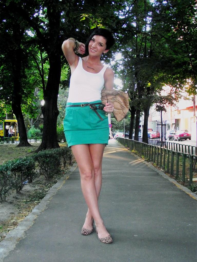 Zeleno + leopard
