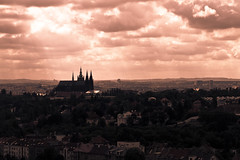 Another view from my Hotel terrace (Little_g_86) Tags: view sightseeing prag ausblick pragerburgpraha praguehradschin