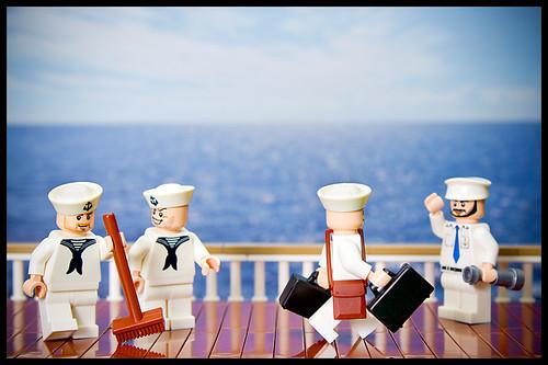 Custom minifig A Sailor's Life