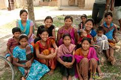 Garo Kids Gather Together - Srimongal, Bangladesh (uncorneredmarket) Tags: people bangladesh villagevisit indigenous srimongal garo garovillage garovillagevisit