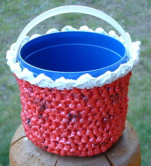 Plarn Bucket Basket