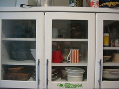 some of the dishes in the cupboard (fisshaasan) Tags: kure sunlifebuilding cupboardapartment