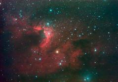 Cave Nebula (NR) (kappacygni) Tags: canon eos 127 cave phd deepspace celestron meade emission cepheus ed80 cavenebula sh2155 450d eq6 Astrometrydotnet:status=solved qhy5 Astrometrydotnet:version=14400 astro:gmt=20101016t2130 astro:subject=cavenebula Astrometrydotnet:id=alpha20110518939409 meade127