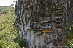 Hanging Coffins (Christian Bederico) Tags: travel philippines culture hanging sagada region coffins cordillera mountainprovince administrative kankanaey