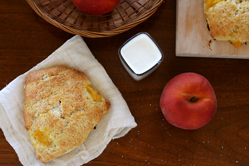 peaches cream scones 3