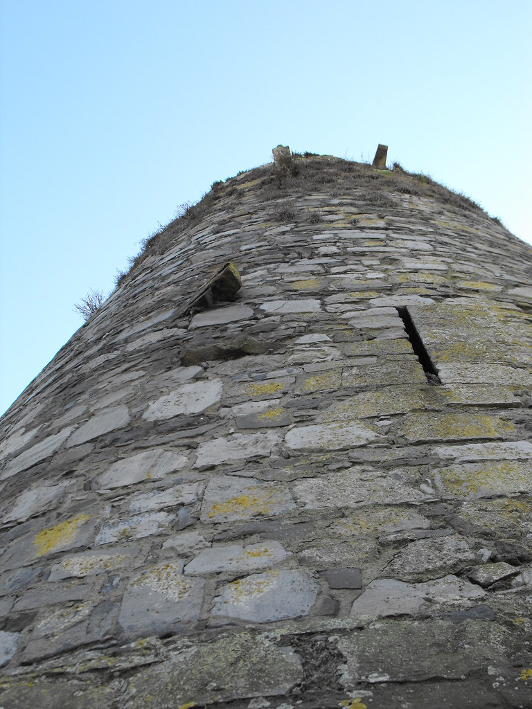 the standing stone: carlow castle, co. carlow.