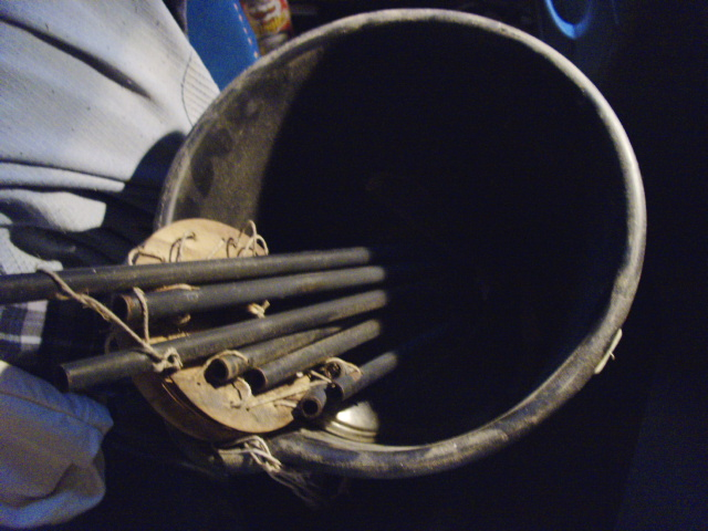 A bucket of chime...