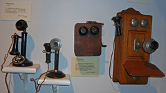 Telephones - late 1800s-1930s