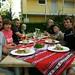 Mais um jantarzão com os amigos