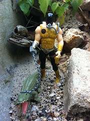 What's for lunch? (tallmanthin) Tags: toys cobra joe master croc pursuit gi crocmaster