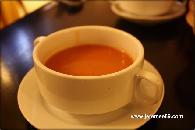 Post Cafe @ Carnarvon Street - Pumkins Soup