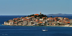 primosten panorama (dario vukovic) Tags: world blue houses sea sky people panorama color tourism beach church water beautiful stone architecture facade sailboat digital landscape photography boat photo colorful europe pretty mediterranean shoot day shot photos yacht gorgeous sony details ngc perspective azure croatia sunny pic tourists roofs pines top100 hr swimmers peninsula adriatic hrvatska jadran dalmatia dalmacija primosten travelphotography primoten dschx5v