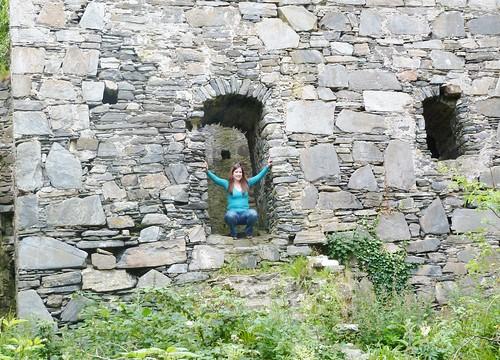 At Castle Tioram, Loch Moidart