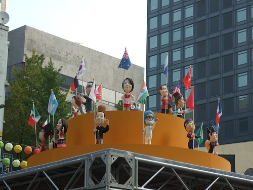G20 Leader dolls