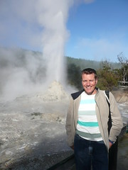 New Zealand  '11 (faun070) Tags: newzealand guy dutch geyser waiotapu ladyknox thermalpark jhk