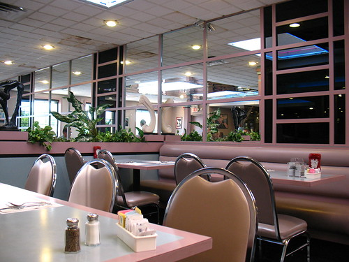 interior from Red Lion Diner, NJ