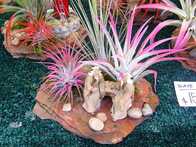 slate garden sculpture