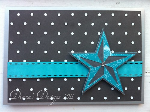 Cricut Indie Art Star Card
