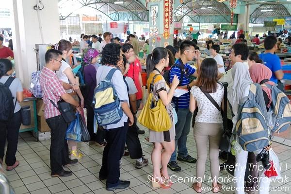 Firefly trip - Sibu Central Market, Sarawak