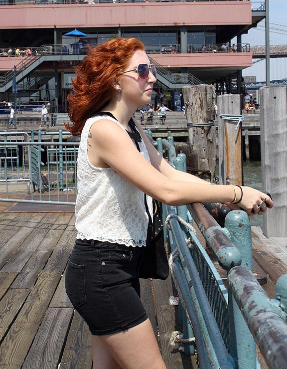 Jess @ the Pier