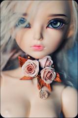 Beverly (kerrimaknolli) Tags: flowers rose vintage photo nikon doll handmade retro jewellery bjd portret fairyland fee msd ws  mnf   minifee  rheia