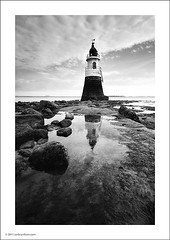 Plover Scar Lighthouse - 2 (Ian Bramham) Tags: bw lighthouse white black photo nikon image lancashire photograph scar plover glasson d700 ianbramham 1635vr