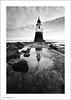 Plover Scar Lighthouse - 2 (Ian Bramham) Tags: bw lighthouse white black photo nikon image lancashire photograph scar plover glasson d700 ianbramham 1635vr