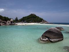 Nang Yuan Island - Thailand (_takau99) Tags: trip travel beach topv111 pen thailand island topv555 topv333 topv1111 topv444 may olympus topv222 topv777 tao topv666 kohtao kohnangyuan kotao nangyuan konangyuan 2011 takau99 penlite epl1