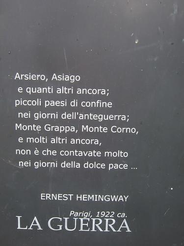 Hemingway, Grappa