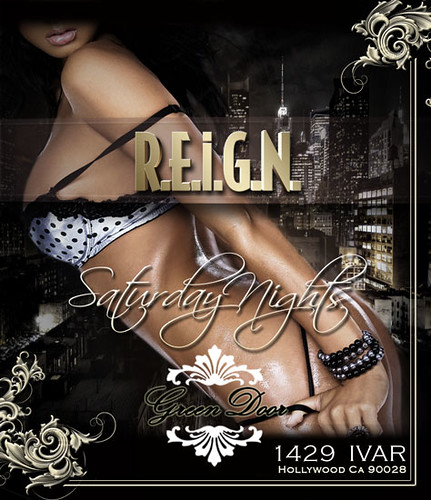 #REIGNSaturdayNights @GreenDoor 10-8-11 by VVKPhoto