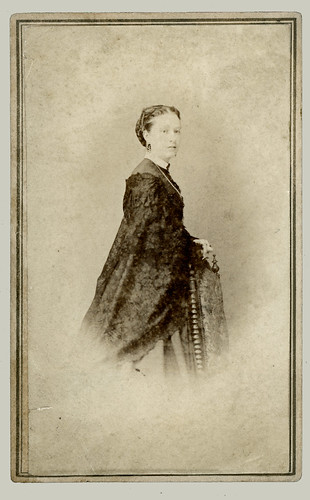 CDV Woman with necklace