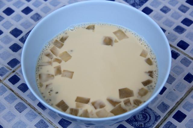 Thai tofu soup