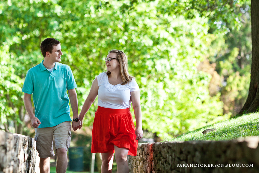 Nelson-Atkins Museum of Art Kansas City engagement photos