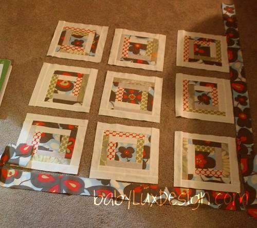 baby lux design quilt