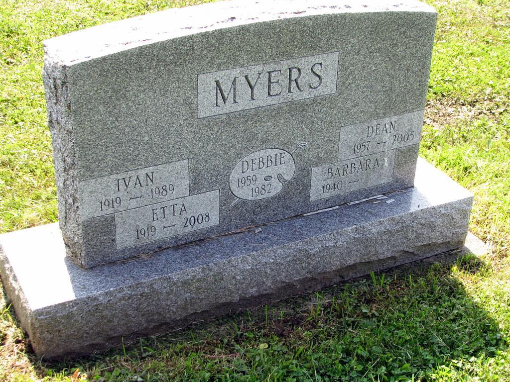 Myers, Ivan Etta Debbie Dean Barbara 1