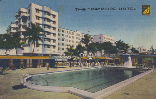 The Traymore Hotel - Miami Beach, Florida