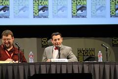 San Diego Comic-Con 2011 - Day 1 (insidethemagic) Tags: food costume twilight floor sandiego district ridleyscott exhibition peeweeherman gaslamp fox penn voltron comiccon beavis hasbro teller butthead sdcc 2011 morganspurlock mikejudge hallh