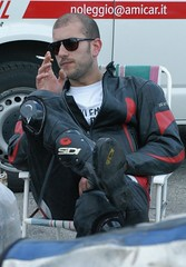biker relaxing with a fag (skintightj2009) Tags: leather cigarette smoke smoking biker smoker raucher zigarette rauchen