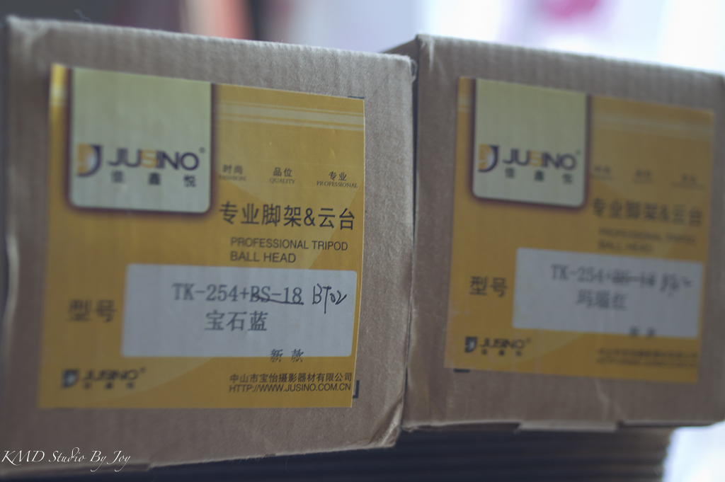 Jusino TK-254+BT02 2011年新上市彩色腳架開箱