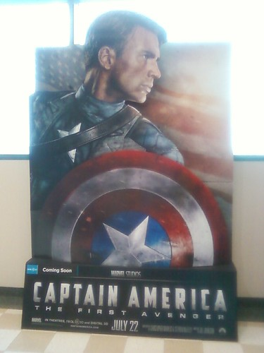 Treated myself to Captain America this evening.