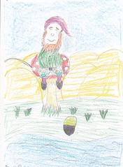 Visitor art at the National Leprechaun Museum (National Leprechaun Museum) Tags: ireland dublin irish art museum pencil fun drawing folklore national imagination crayon visitor mythology leprechaun