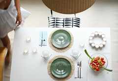 Saturday dinners @ Home (Iro {Ivy style33}) Tags: white ikea photography minimal blogged simple interiordesign everydaylife homestyling welivehere domesticstorieswithivy saturdaydinnershome penthouseloftapartmentingermany