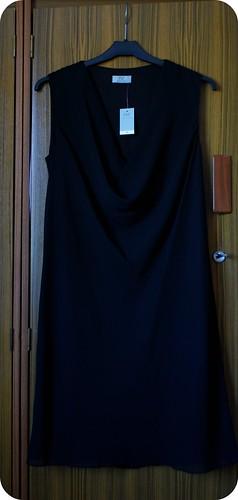 tesco black sheath dress