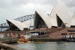 Sydney Harbour Bridge and Sydney Opera House, Australia - Explored (Hopeisland) Tags: city sydney australia  2011    explored