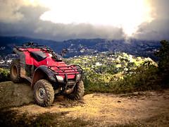 My dirt ATV! (Leeo Photography) Tags: brasil honda do 4x4 quad 350 atv paulo sao campos jordao quadriciclo fourtrax