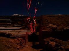 EL DIABLO SE VA (APOLO*NORTE*AFRICA) Tags: luz movimiento atacama nocturna desierto diablo exposicion ayquina tiempo obturacion